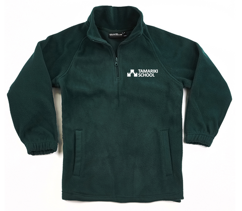 Tamariki School Half Zip Fleece