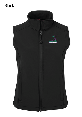 Music Moves Me Trust Softshell Vest