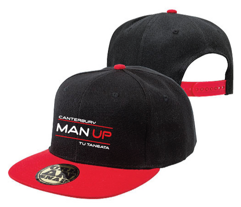 Man Up Canterbury Snapback Cap