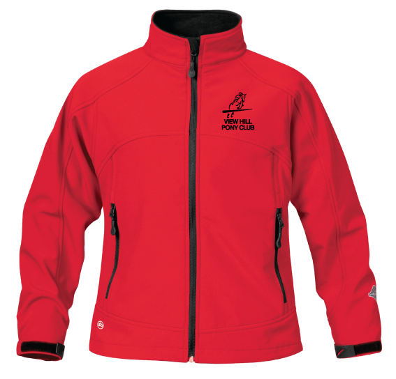 View Hill Pony Club Softshell Jacket