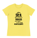 Birthday I am Awesome Tee - Mens