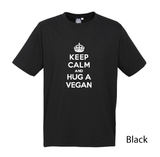 Keep Calm Casual Tee - Vegan Society