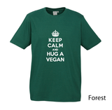 Keep Calm Fitted Tee - Vegan Society