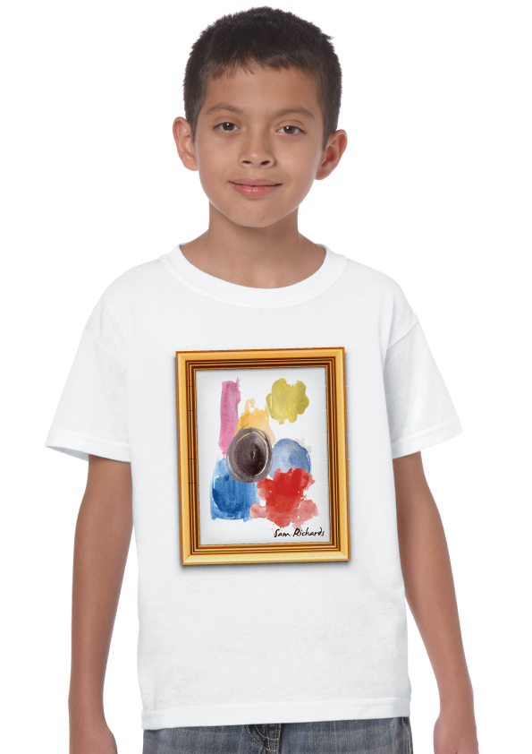 Kids Artwork T-shirt - Signed by Me