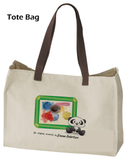 Kids Artwork Bag / Satchel - Cute Panda Frame