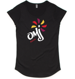 'OMJ' fashion tee - Ladies