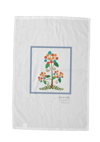 Kids Artwork Tea Towel - Designer Label