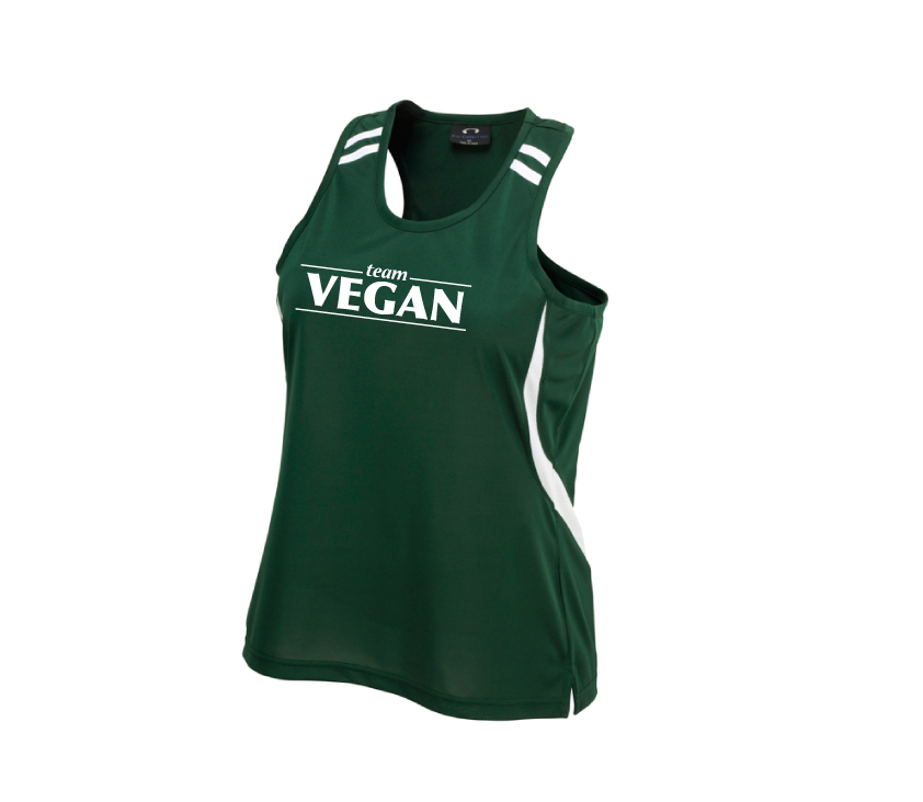 Team Vegan Ladies Singlet