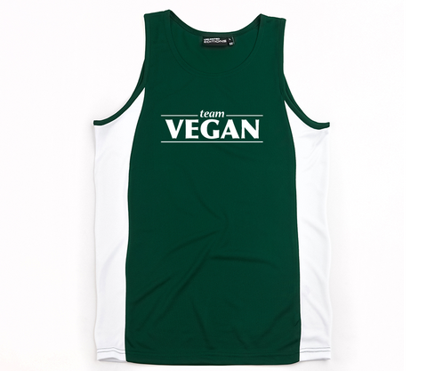 Team Vegan Mens Singlet