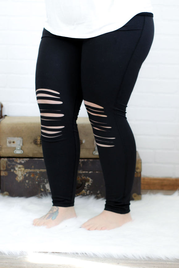 Make the Cut Legging -Plus
