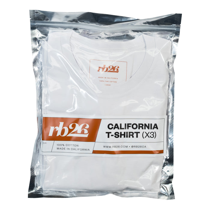 California Tee 3-Pack