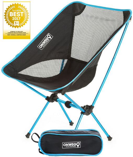 "ONWEGO® Chair Named ""Best Overall Camping Chair of 2017"""