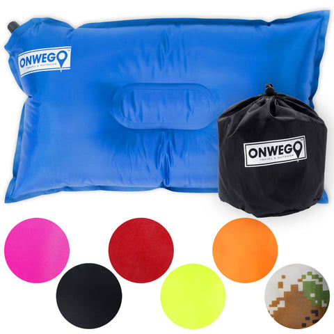 ONWEGO® Self-Inflating Travel Pillow