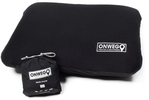 ONWEGO® 'Soft-Top' Inflatable Backpacking, Camping, Travel Pillow