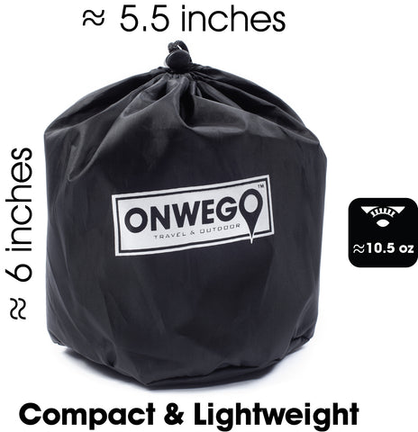Onwego 174 Camping Pillow Self Inflating