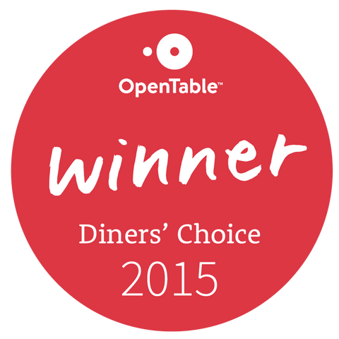 OpenTable's Diners' Choice Award