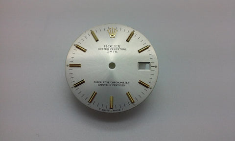 Rolex Men's Date Oyster with Stick Hour Markers for Two-Tone or Gold