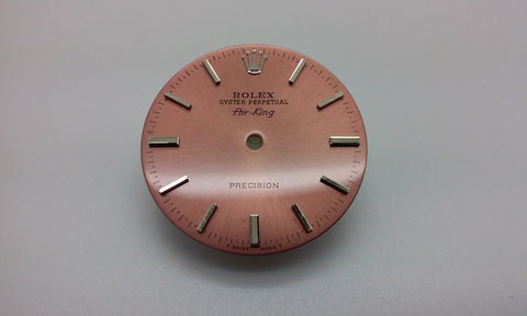 Rolex Air-King Salmon Dial for Stainless-Steel