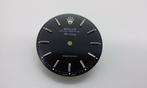 Rolex Air-King Black Dial for Stainless-Steel