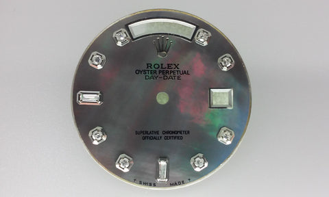 Rolex Day-Day Tahitian Mother Of Pearl with Diamonds for White Gold or Platinum