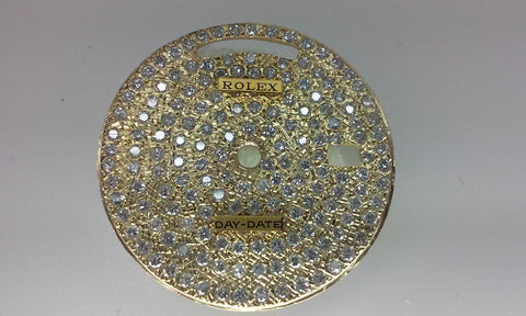 "Rolex Day-Date Pave ""Blind"" for Gold"
