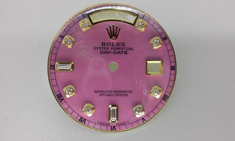 Rolex Day-Date Pink Mother of Pearl with Diamonds for Gold