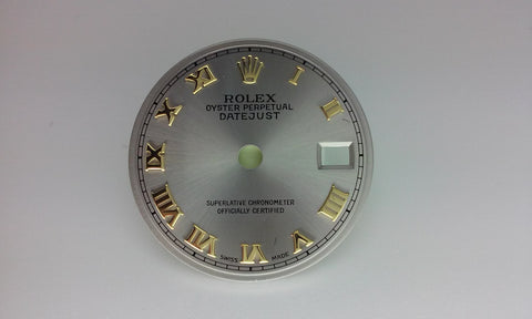 Rolex Ladies Datejust Oyster with Roman Numerals for Two-Tome or Gold