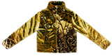 """Eye of the Tiger"" Blanket Zip Front Puffer"