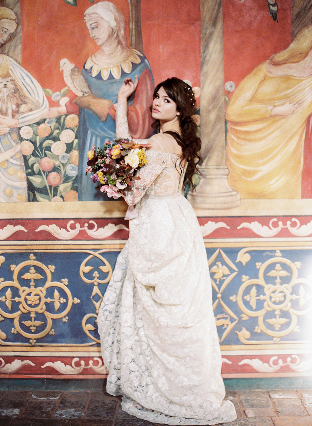 Voyage Wedding Dress at Castle di Amarosa
