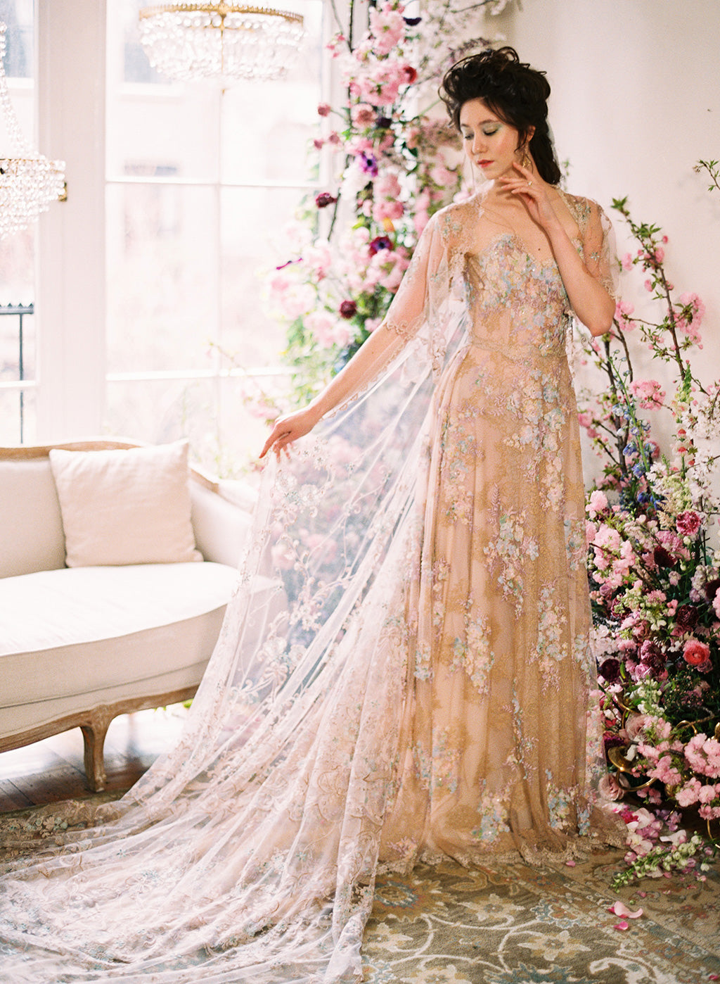 Claire Pettibone Wedding Dress Ophelia
