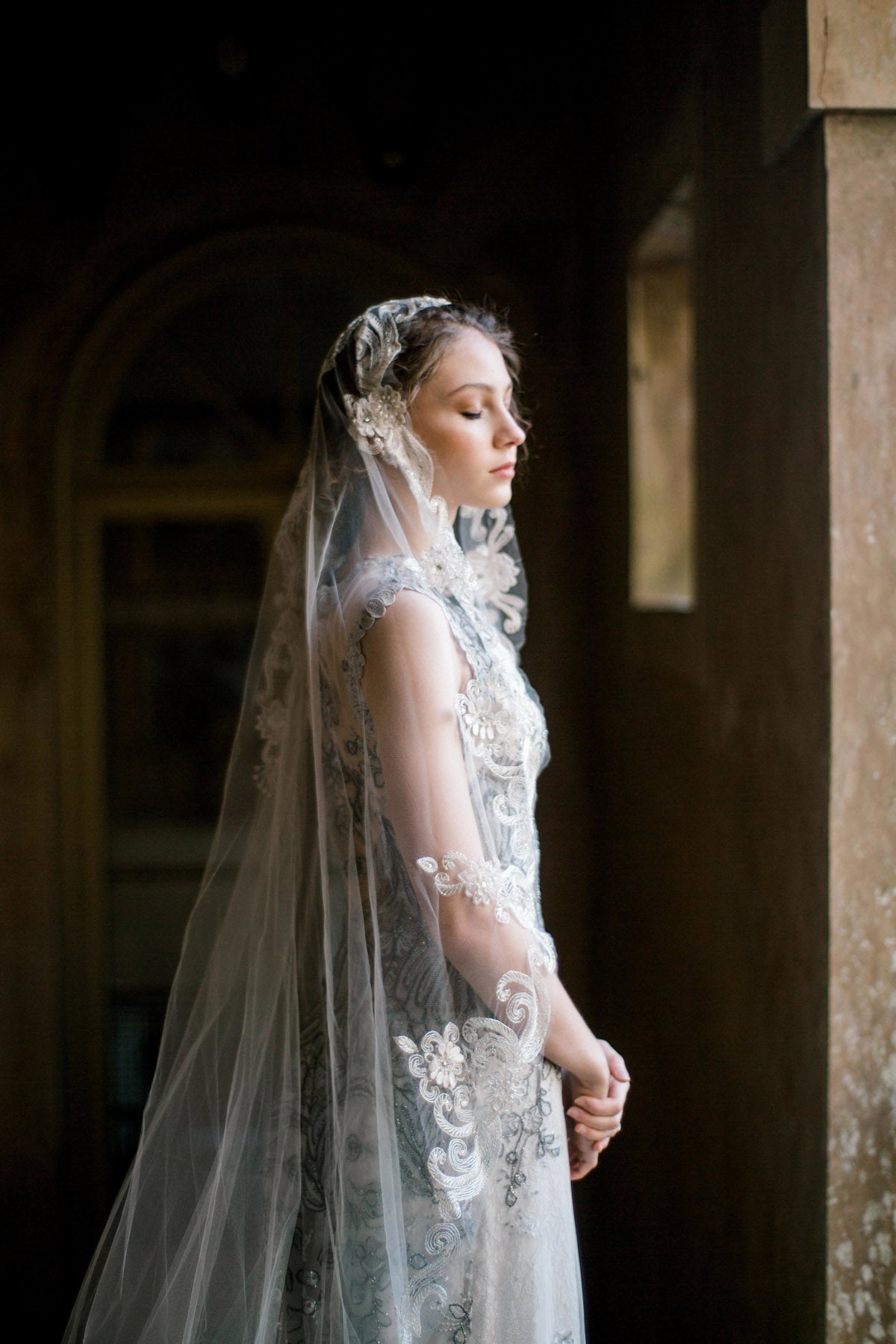 Claire Pettibone Horizon Couture Wedding Gown