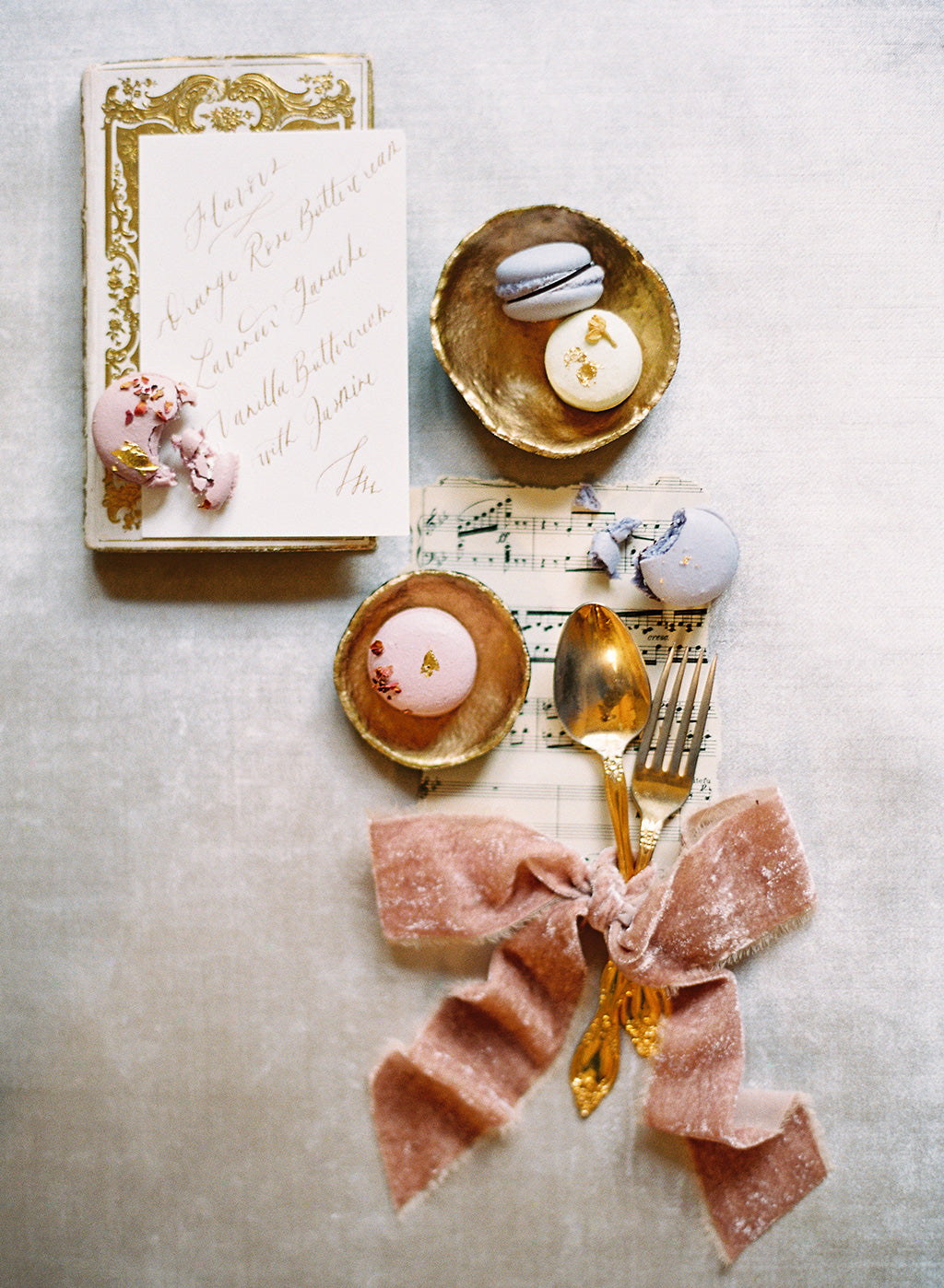 Wedding Inspiration Macarons