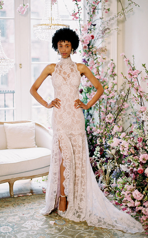 Lace Wedding Dress Delphine By Claire Pettibone