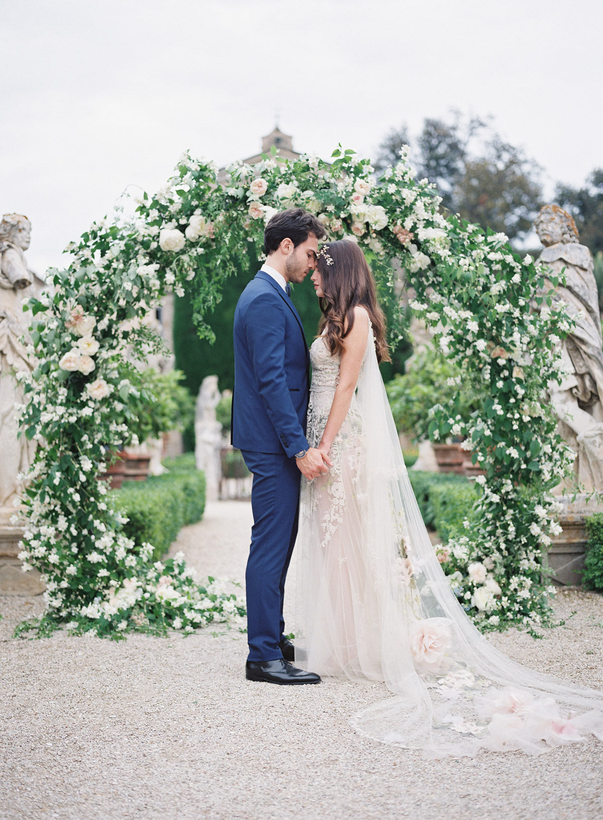 Claire Pettibone Gypsy Rose Couture Wedding Gown