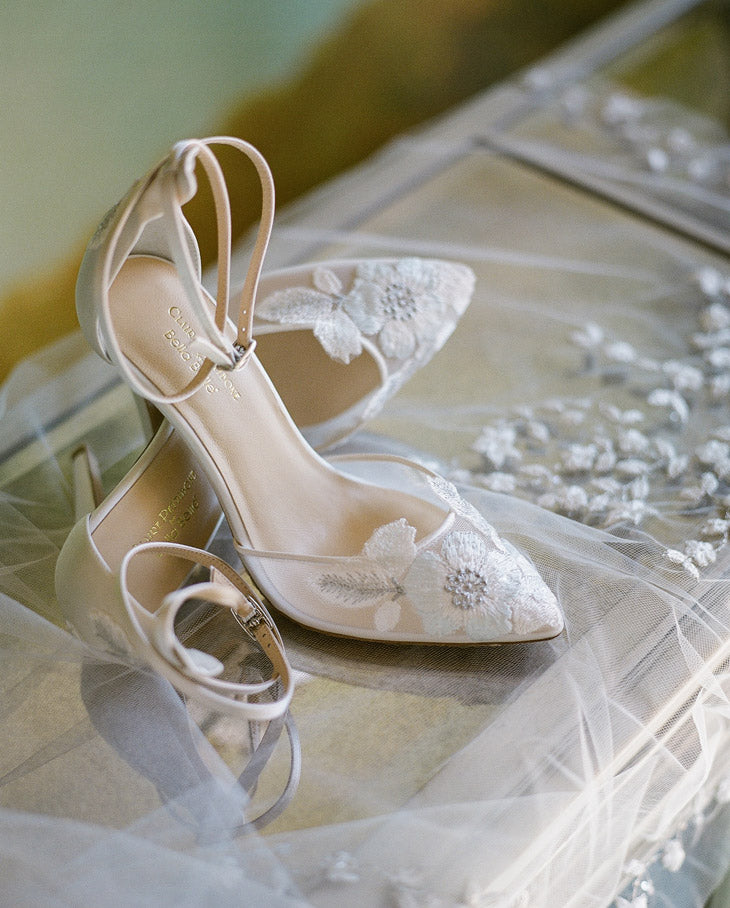 Freya Wedding Shoes by Claire Pettibone