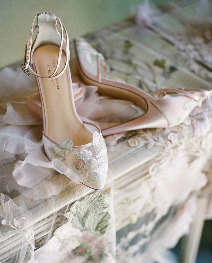 Flora Wedding Shoe by Claire Pettibone for Bella Belle