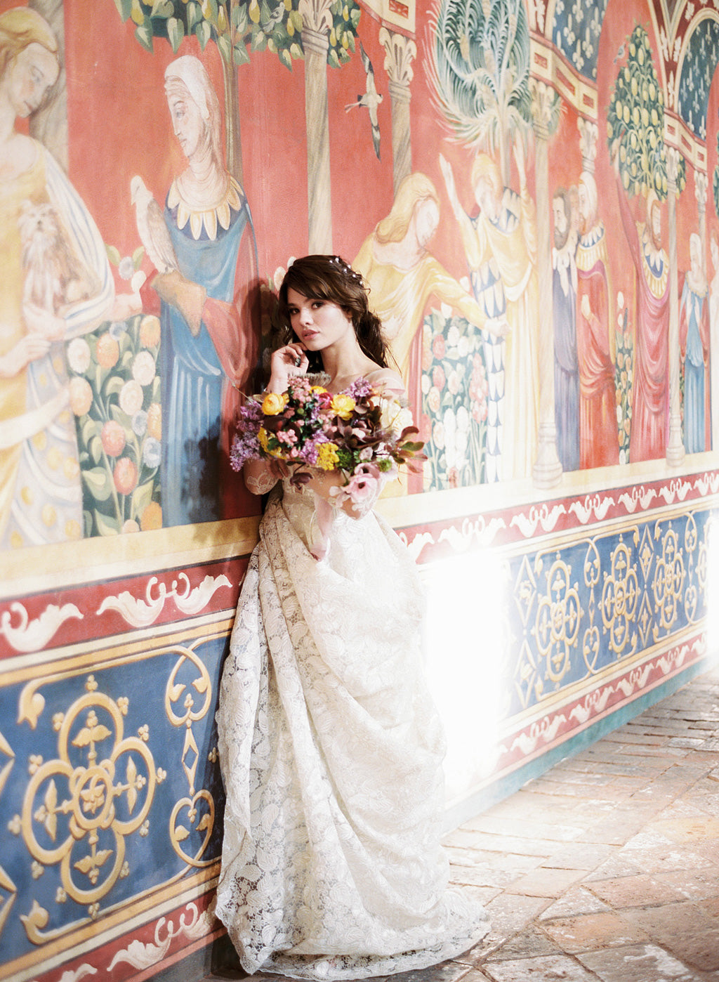 Claire Pettibone Voyage Couture Wedding Dress