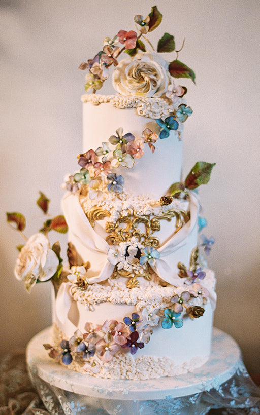 Trouvaille Bakery Wedding Cake Claire Pettibone Design