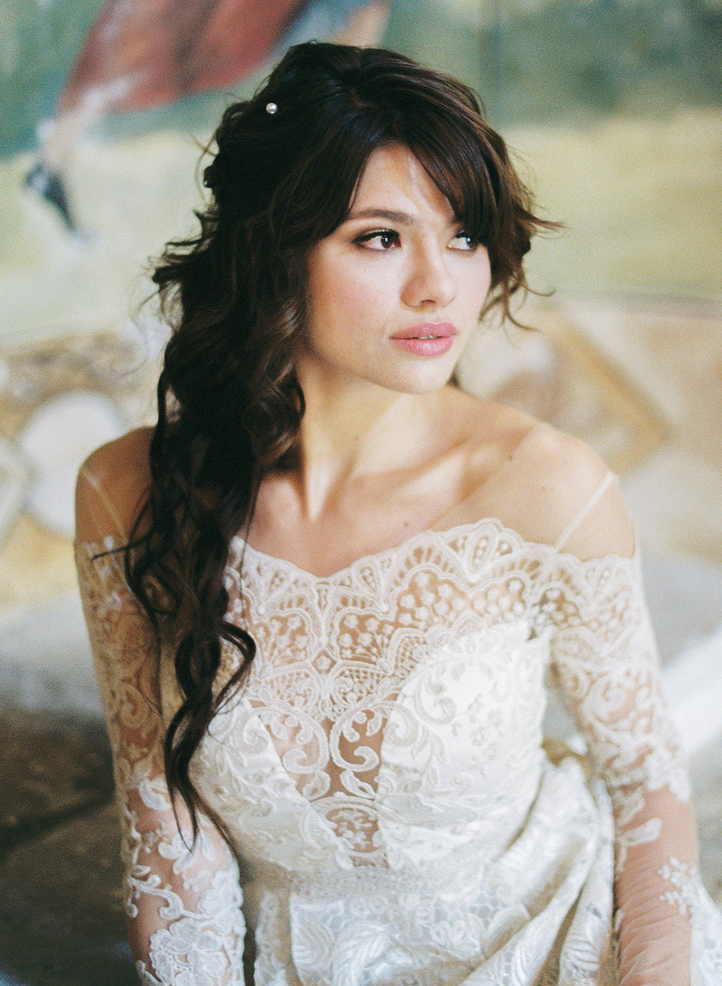 Voyage Wedding Dress by Claire Pettibone
