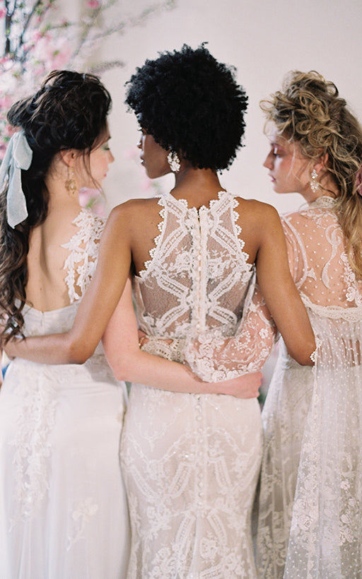 Lace Wedding Dress Back Details