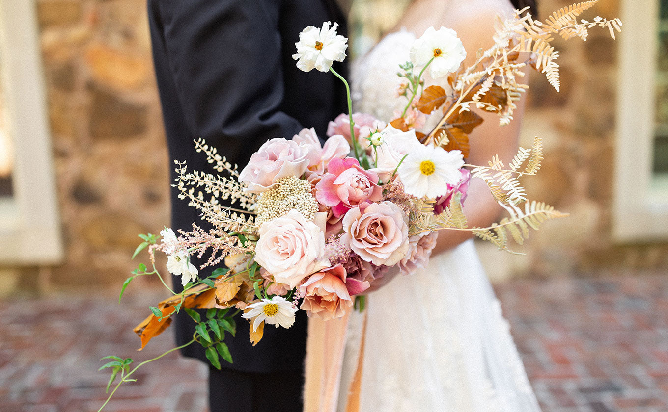 Wedding Bouquet by Pampas and Floral