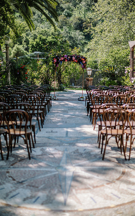 Garden for Wedding Harry Houdini Estate