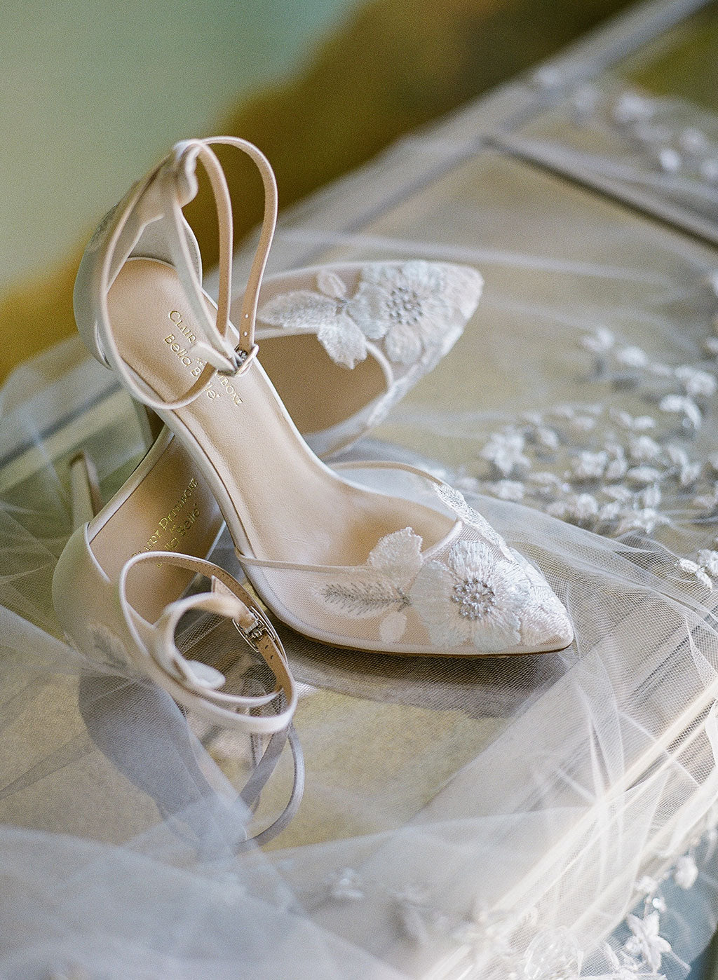 Flora Embroidered Wedding Shoes