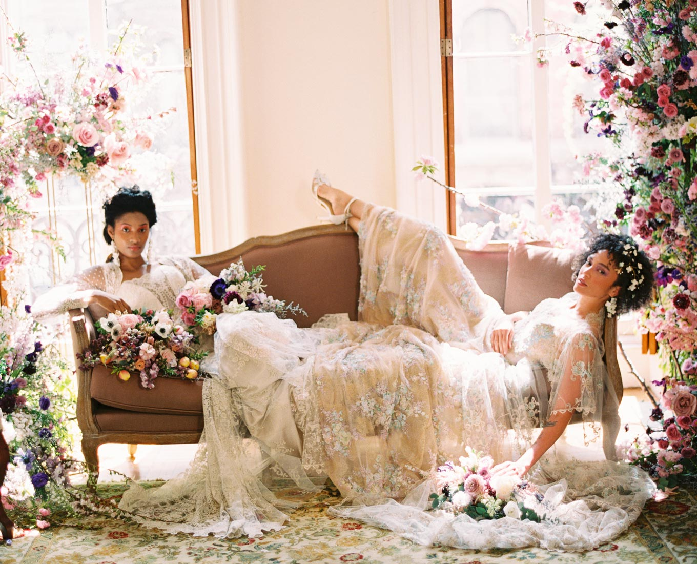 Cecily and Ophelia Wedding Dresses
