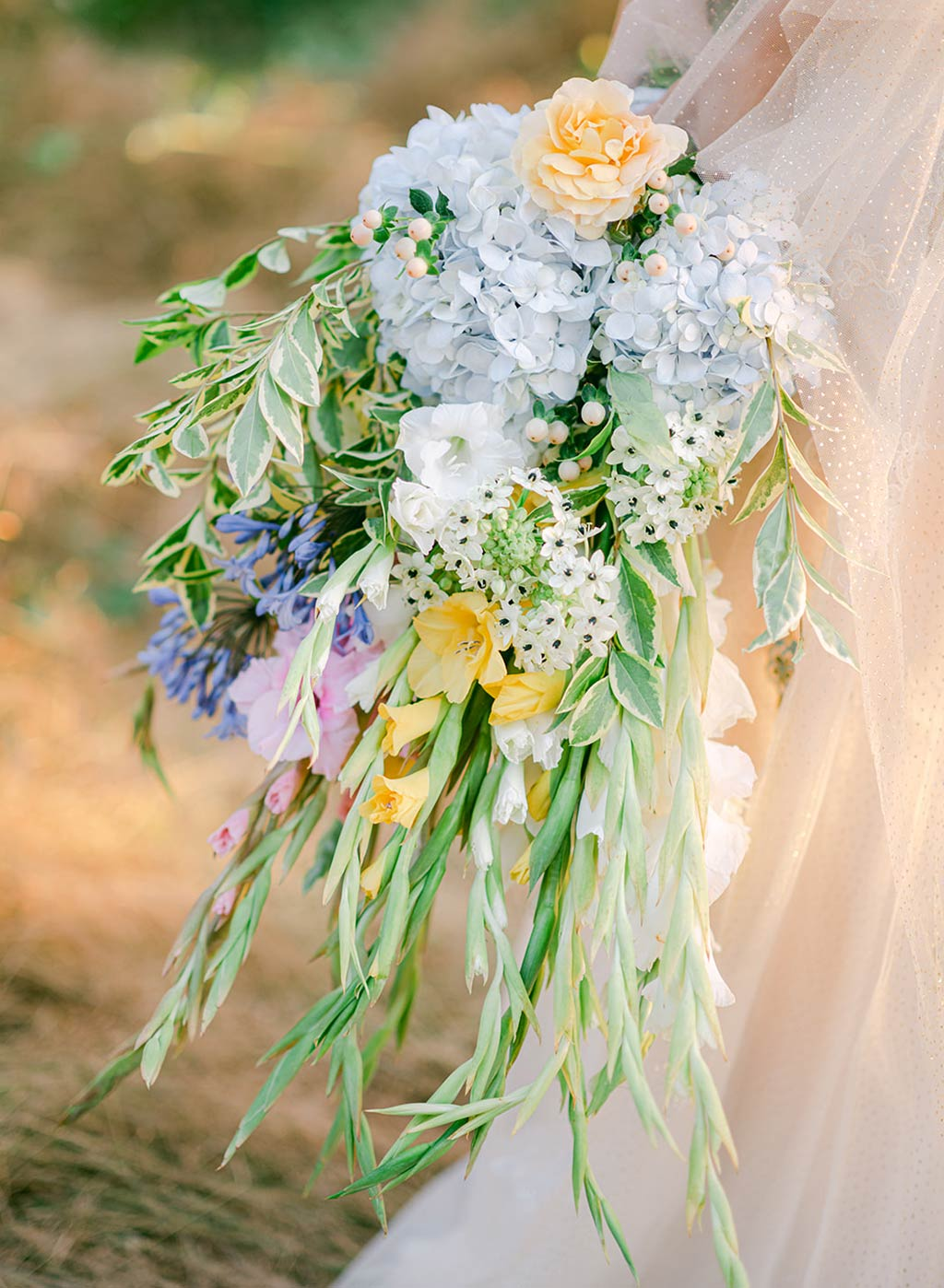 Colorful Wedding Boquet Arrangement
