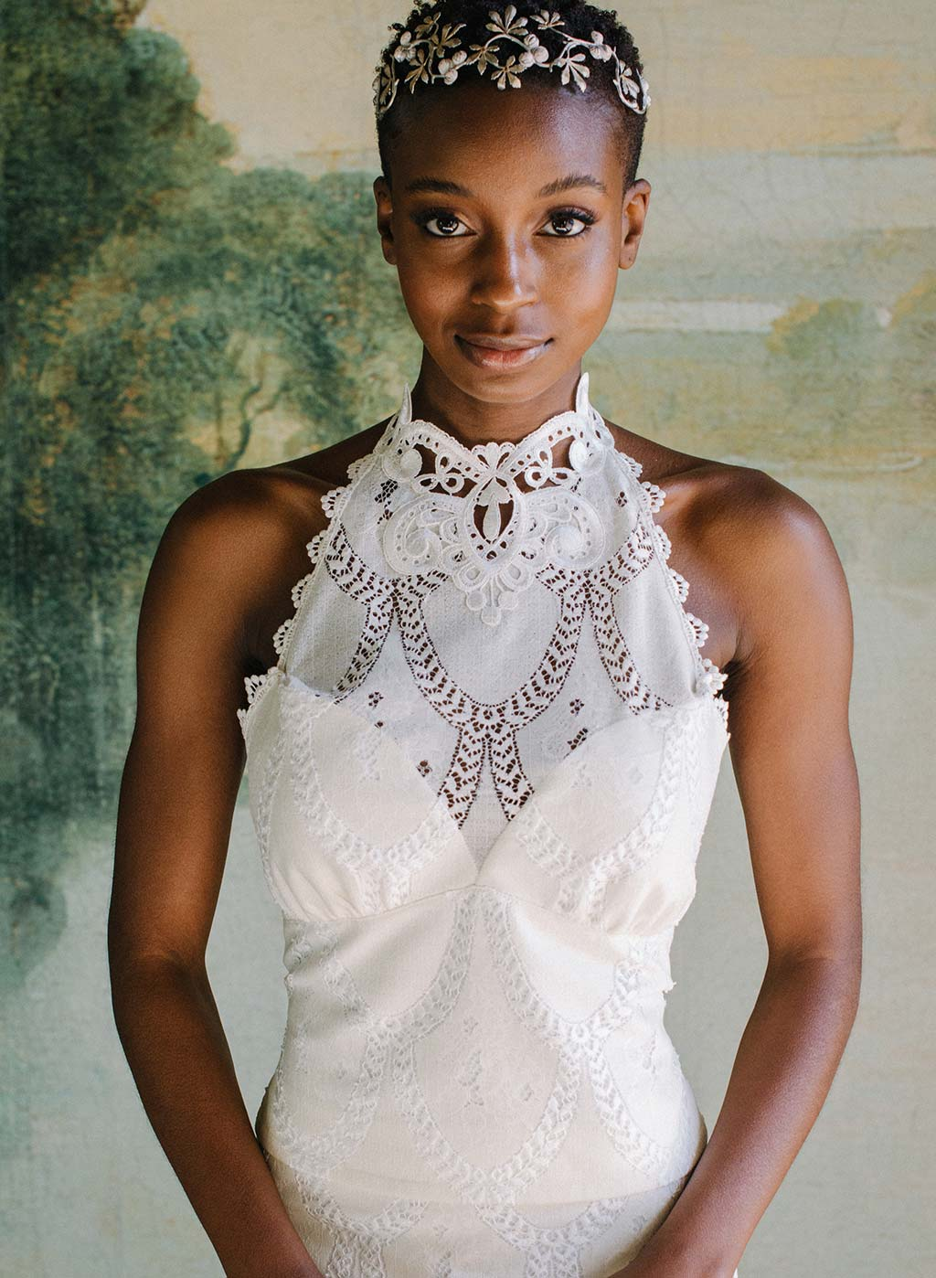 Lace Halter Top Claire Pettibone Ready to Wed