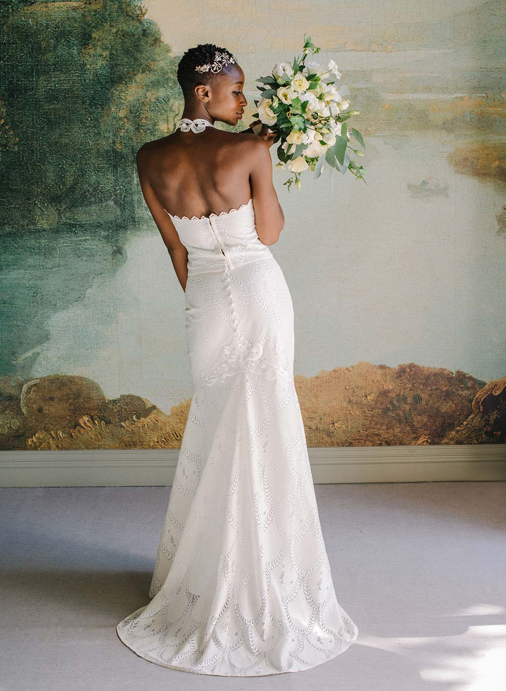 Calypso Full Lace and Halter Top Skirt Bridal Separates