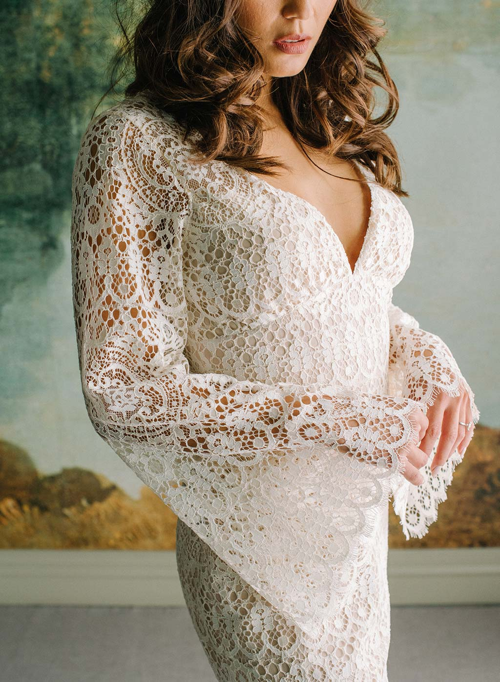 Indie Lace Ready to Wed Dress Sleeve