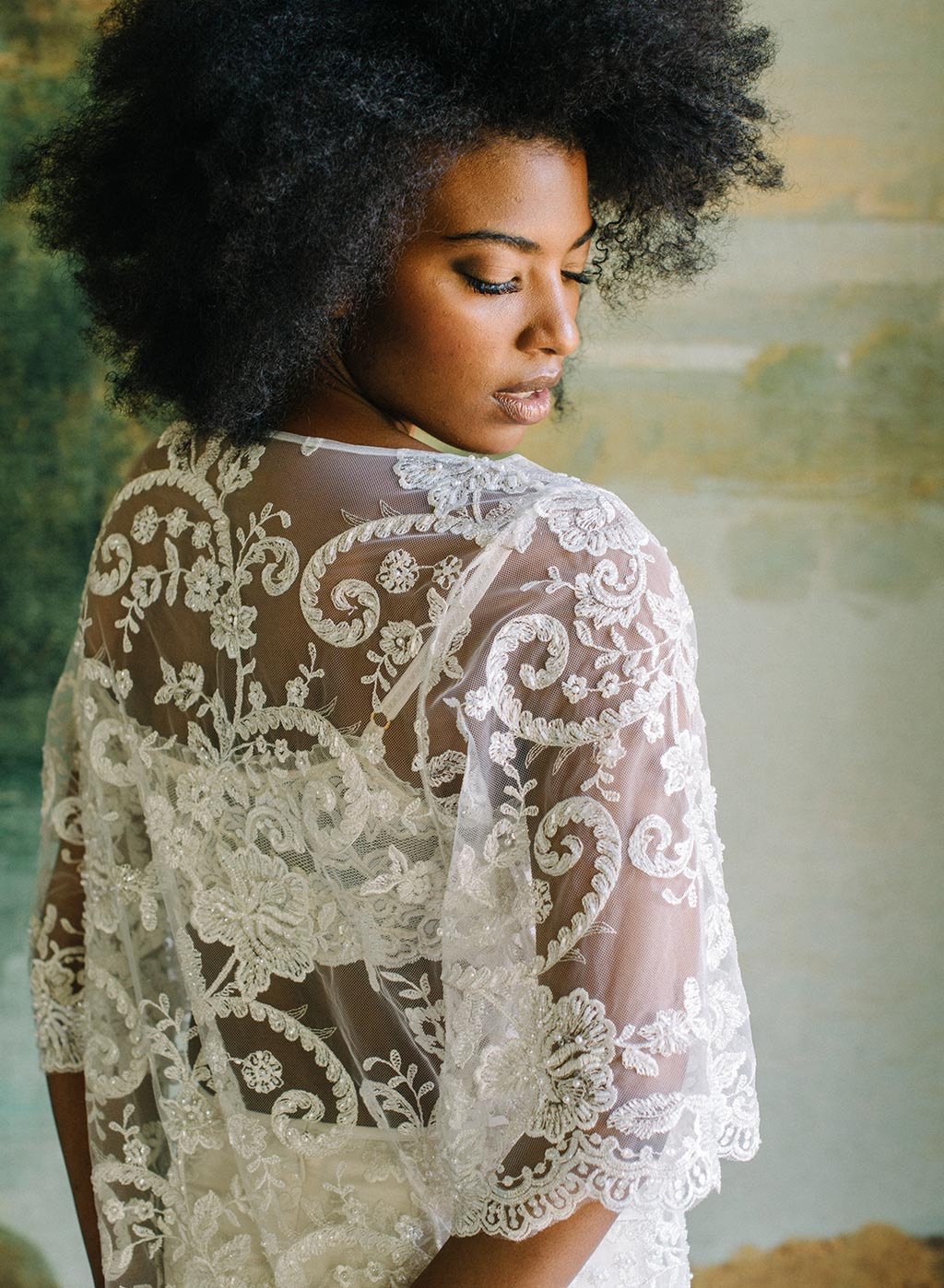 Beaded Lace Tunic Ready to Wear Separates