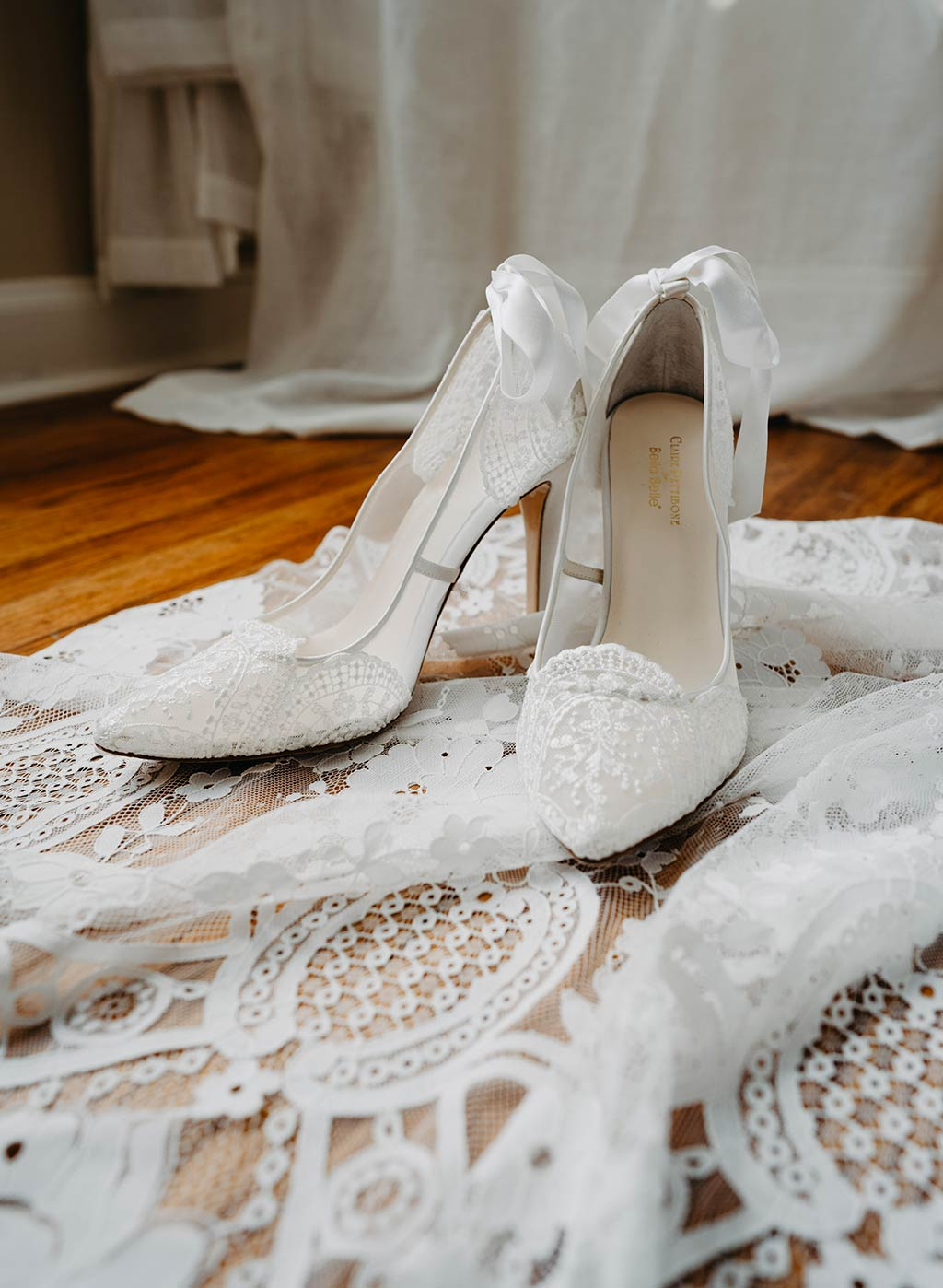 Gisselle Wedding Shoes by Claire Pettibone